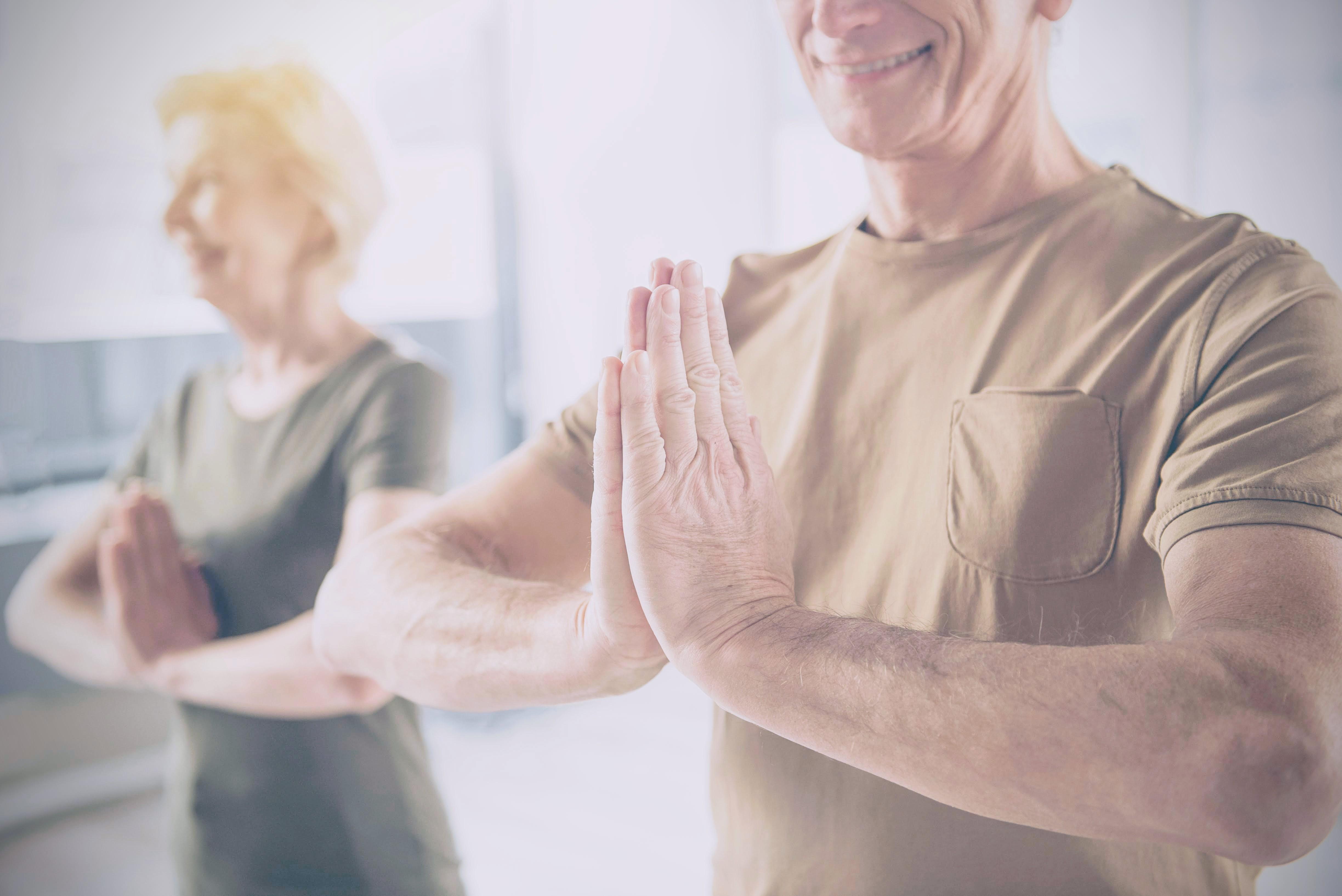 Yoga bij KBO Leur
